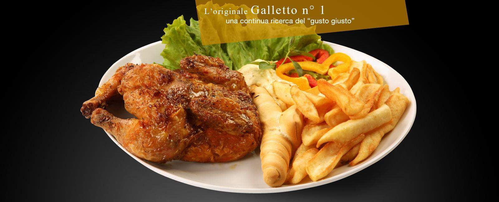 <div>L'originale Galletto nr. 1<br />una continua ricerca del 'gusto giusto'</div>
