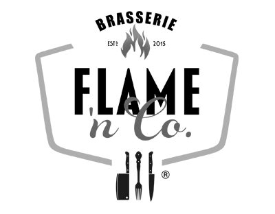 Logo Brasserie Flame 'n Co