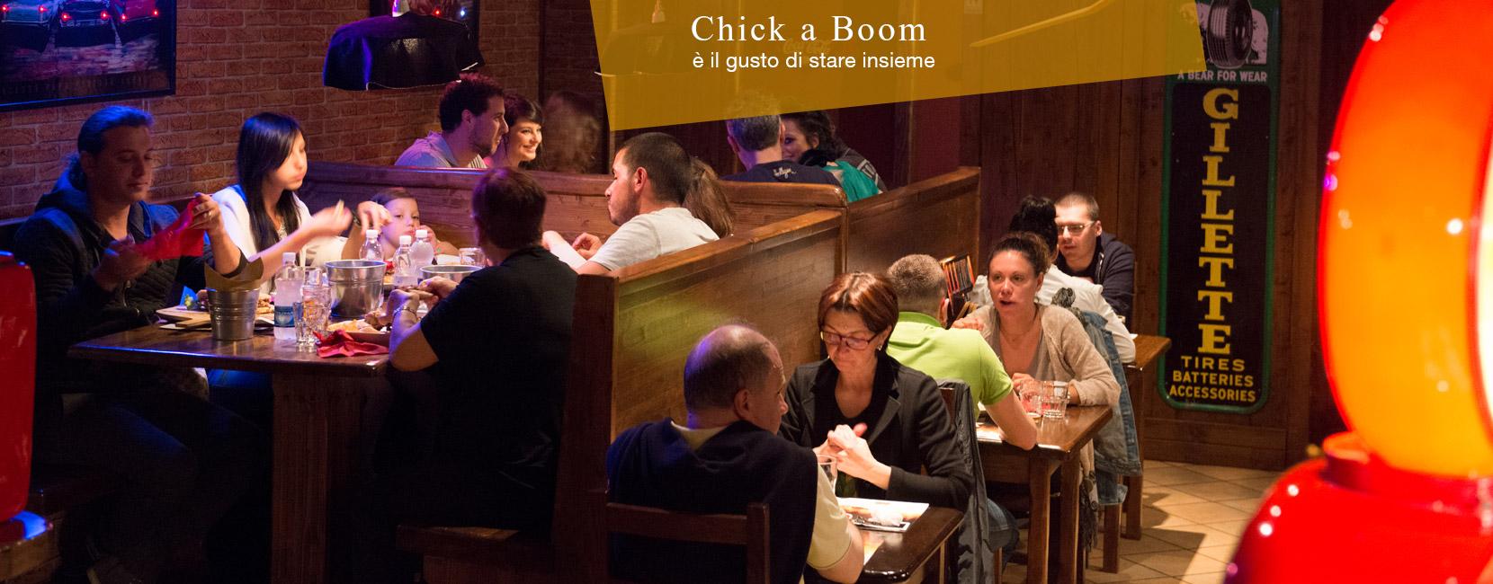 Chick A Boom, Brasserie di Pordenone locale
